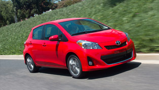 2012 Toyota Yaris delivers exceptional blend of fuel economy and performance