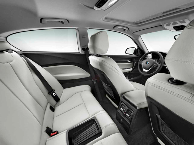 2013 BMW 1 Series Interior