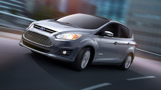 2013 Ford C-Max Hybrid with a base price - $25 995