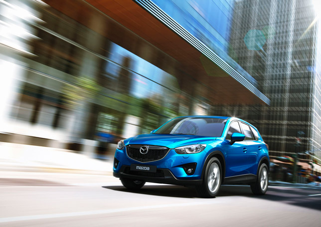 2013 Mazda CX-5 with Five Star Euro NCAP Safety Rating