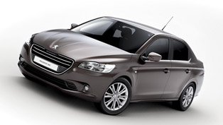 2013 Peugeot 301 - the new compact four-door saloon