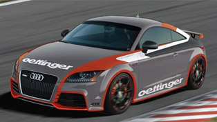 Oettinger tuned Audi TT-RS