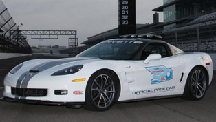 Chevrolet Corvette ZR1 takes place at Indy 500