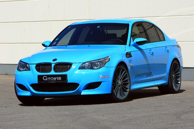 G-Power BMW M5 Hurricane RRs (2012)