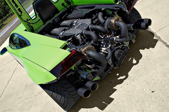 Heffner Performance Twin Turbo Lamborghini LP-560