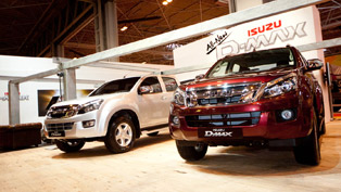 Isuzu D-Max a Hit At the CV Show