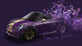 2012 MINI Roadster by Franca Sozzani supports the Life Ball in Vienna