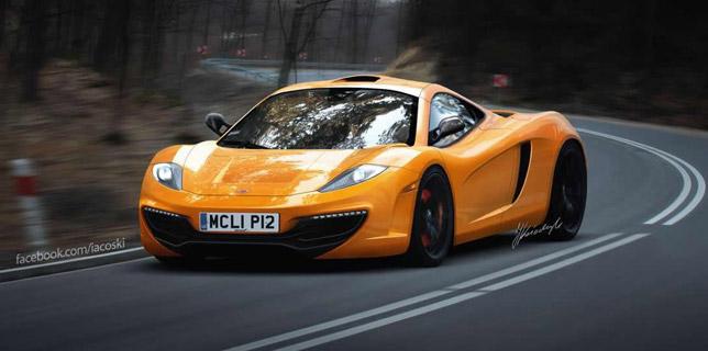 McLaren P12 render