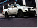 Mitsubishi L200 Barbarian Black Special Edition offers style in Black