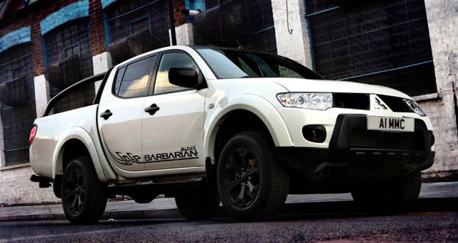 Mitsubishi L200 Barbarian Black Special Edition