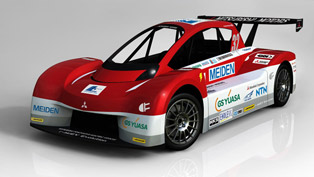 Mitsubishi i-MiEV Evolution and Mitsubishi i all electric vehicle to compete in legendary race