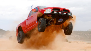 Mopar Ram Runner Wins Truck Duel in Desert