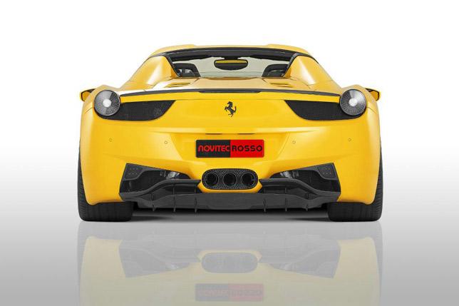 Novitec Rosso Ferrari 458 Italia Spider