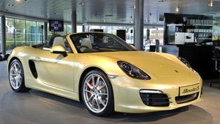 Porsche Boxster Arrives in UK Showrooms