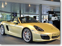 Porsche Boxster Arrives in UK Showrooms