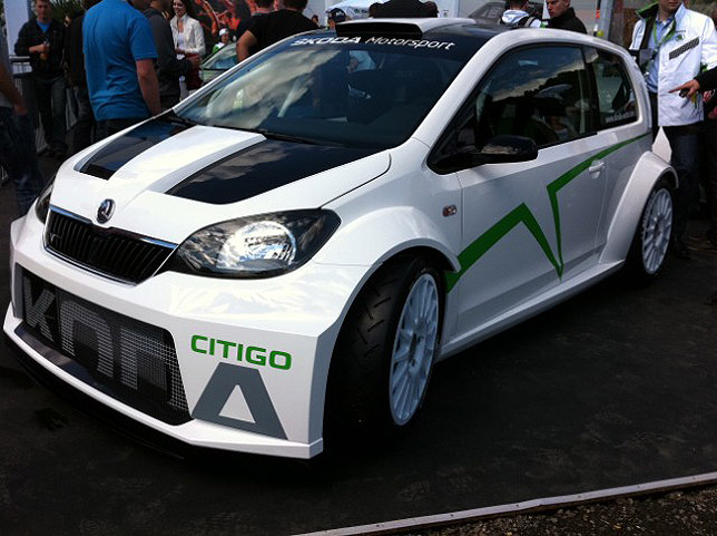 2012 Skoda Citigo Rally Concept at Woerhersee