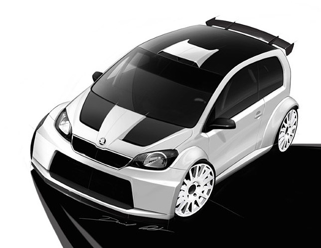 2012 Skoda Citigo Rally Concept