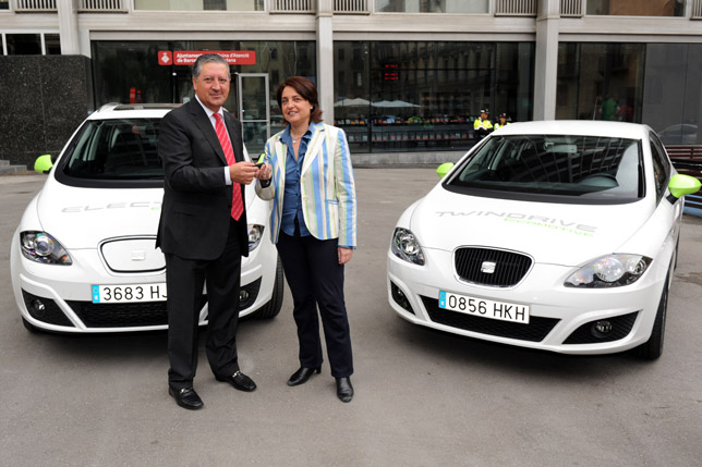 Seat Leon TwinDrive Hybrid and Seat e-Altea XL