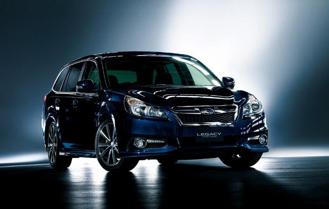 Subaru Legacy Touring wagon (2013)