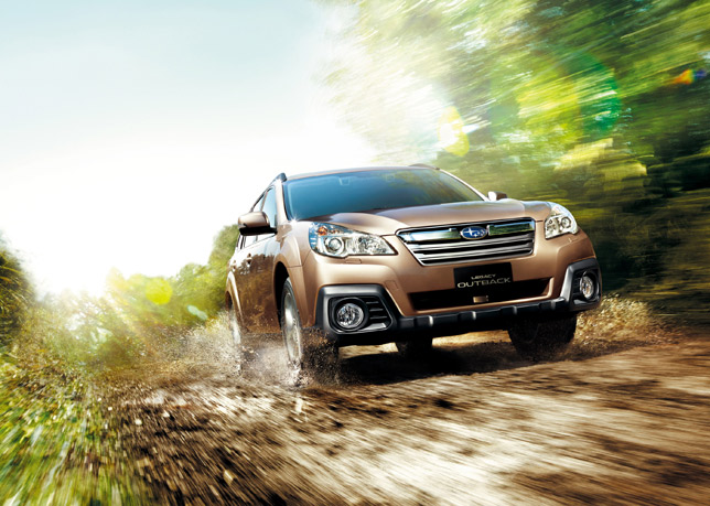 Subaru Outback 2.5 EyeSight (2013)