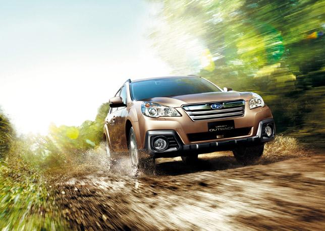 Subaru Outback 2.5 EyeSight (2013)
