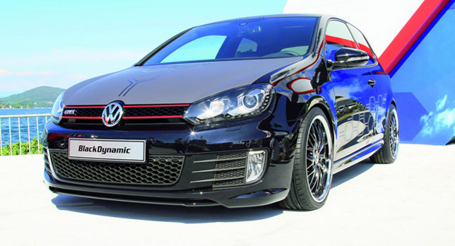 2012 Volkswagen Golf GTI Black Dynamic Concept