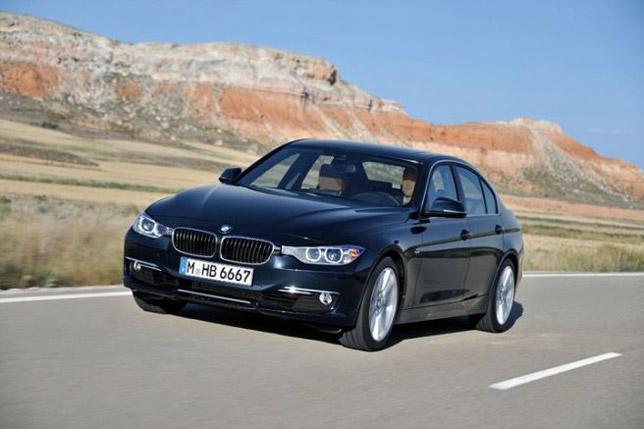 2013 BMW 3-Series F30 Sedan