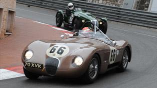Legendary Jaguar C-Type wins Monaco Historique