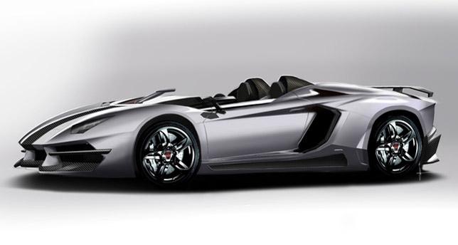 2012 Prindiville Lamborghini Aventador J Concept Limited Edition