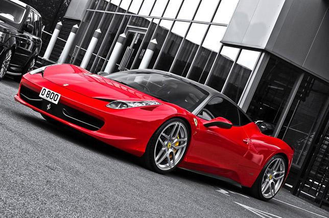 2012 Kahn Ferrari 458 Italia