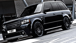 2012 Kahn Range Rover Westminster Black Label Edition marks the Diamond Jubilee
