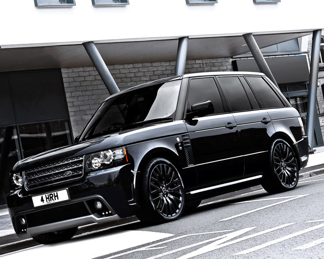 2012 Kahn Range Rover Westminster Black Label Edition