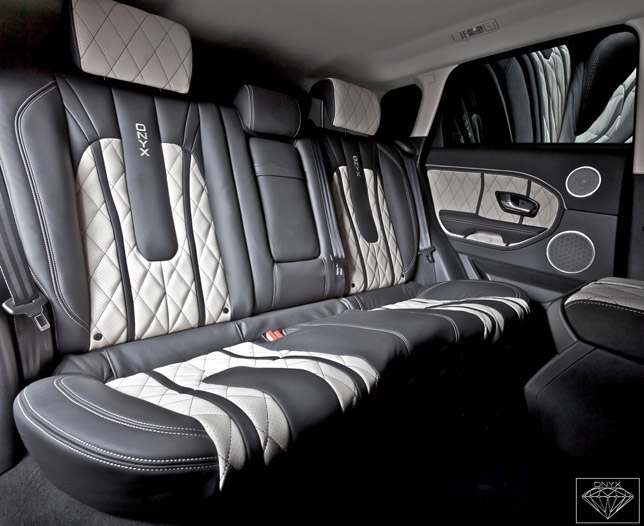 2012 Onyx Land Rover Rogue Edition Interior