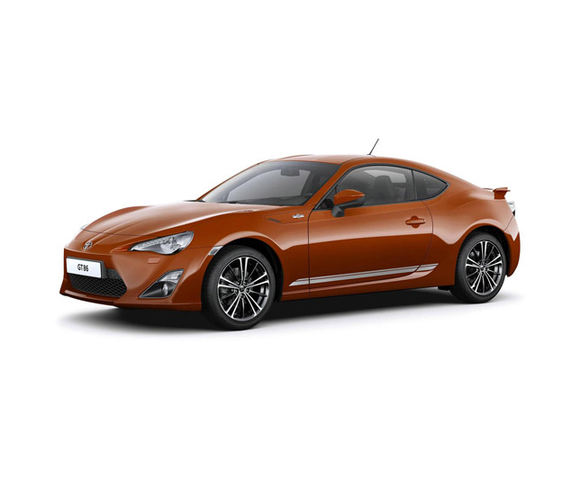 2012 Toyota GT 86 accessories