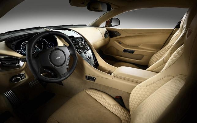 2013 Aston Martin Vanquish Interior