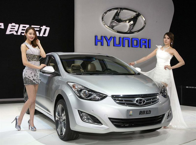 2013 hyundai elantra debuts as langdong in china. Black Bedroom Furniture Sets. Home Design Ideas