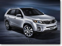 2013 Kia Sorento gets upgraded
