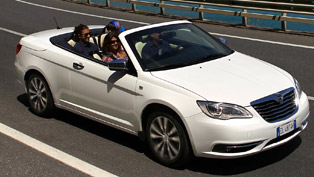 2013 lancia flavia convertible: expression of italian way of life
