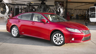 2013 Lexus ES 350 and ES 300h Hybrid with Improved Handling and Design