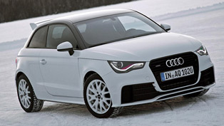 Audi A1 Quattro Going 0-259 km/h on Gravel