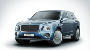 bentley exp 9 suv concept debuts at goodwood festival of speed