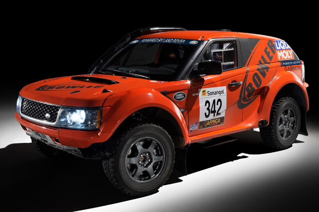 Bowler EXR rally car