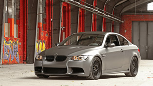 bmw m3 wrapped by cam shaft and more