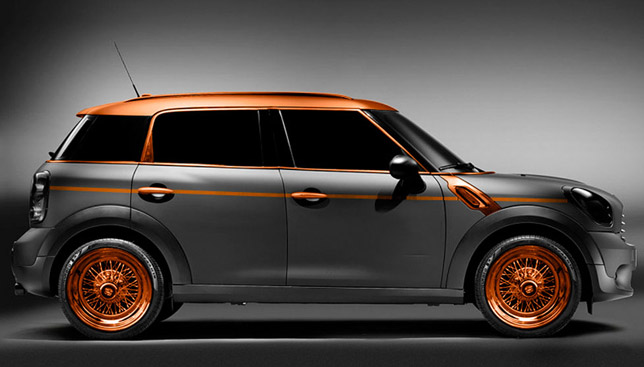 Carlex Design MINI Countryman in steampunk style