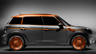 MINI Countryman in steampunk style by Carlex Design