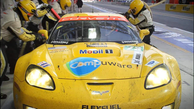 2012 Le Mans Chevrolet Team