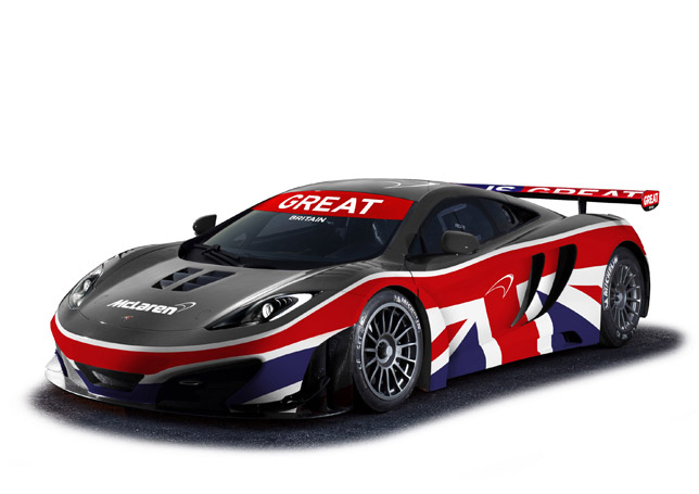 Enhanced McLaren MP4-12C GT3