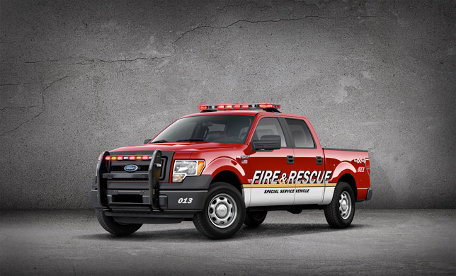 Ford F-150 SSV Package