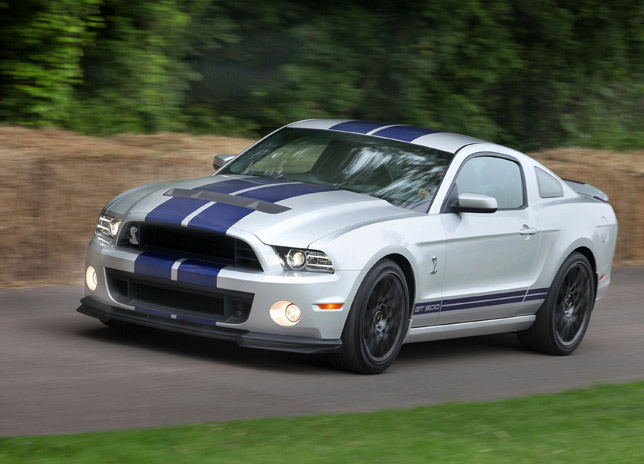 Ford Mustang Shelby GT500 at Goodwood