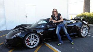 steven tyler and the first 1244 hp hennessey venom gt spyder